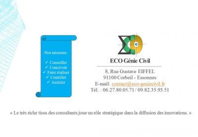 Eco Genie Civil SASU - Bureau d'études - Corbeil-Essonnes