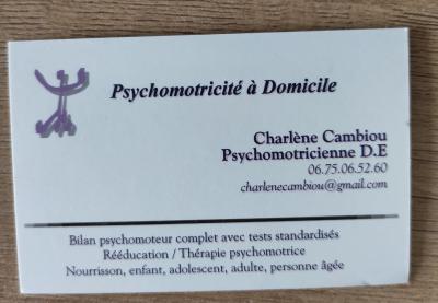 Charlène Cambiou - Psychomotricien - Castanet-Tolosan