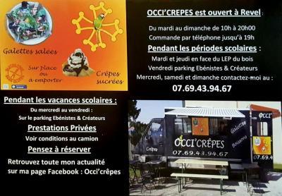 Occi'crêpes - Restaurant - Revel