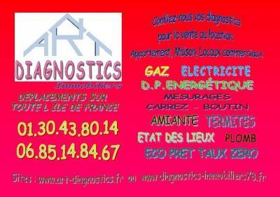 A R T Diagnostics - Expert en techniques du bâtiment - Voisins-le-Bretonneux