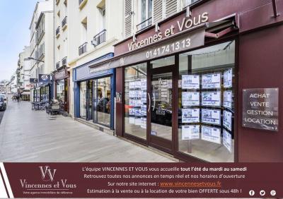 Vincennes Et Vous - Agence immobilière - Vincennes