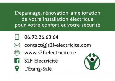 S2F Electricité - Entreprise d'électricité générale - L'Etang-Salé