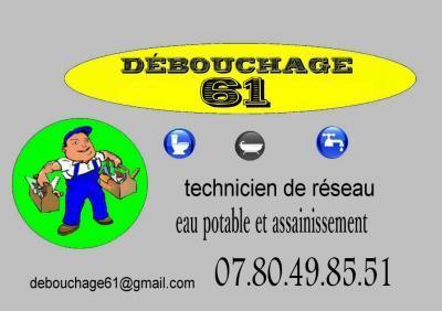 Debouchage 61 - Plombier - Alençon