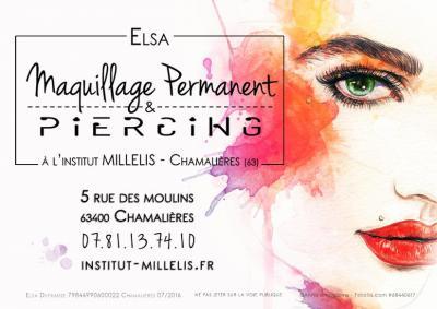 Elsa A L'institut Millelis - Institut de beauté - Chamalières
