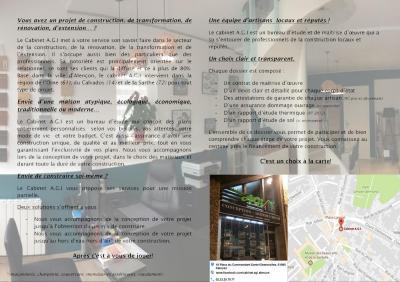 Cabinet A . G . I . - Maître d'oeuvre en bâtiment - Alençon