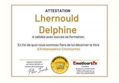 Delphine Lhernould - Sophrologie - Limoges