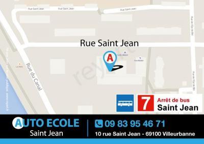 Auto-école Saint-jean - Auto-école - Villeurbanne