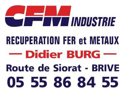 Corrèze Ferraille Métaux Industrie Burg - Commerce de fer - Brive-la-Gaillarde