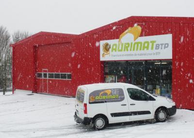 Aurimat BTP SARL - Location de camions bennes - Aurillac