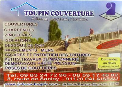 Toupin Couverture - Entreprise de peinture - Palaiseau