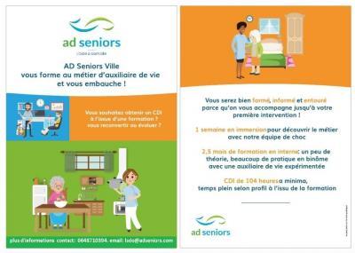 AD Seniors Pays des Olonnes - Soins à domicile - Les Sables-d'Olonne