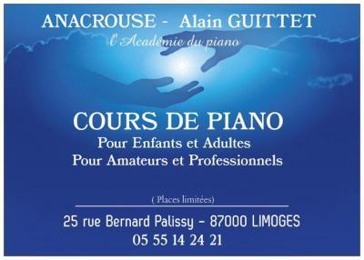 Anacrouse - Leçon de musique et chant - Limoges