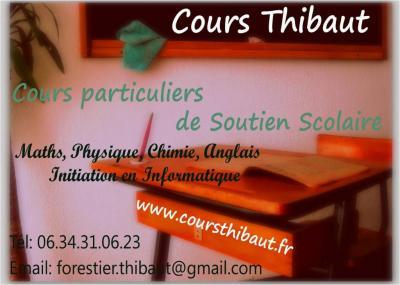Cours Thibaut - Soutien scolaire et cours particuliers - Pau