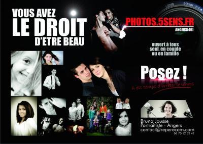 Photos 5Sens - Photographe de portraits - Angers