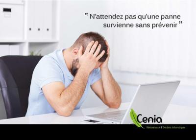 Cenia SARL - Dépannage informatique - Montreuil