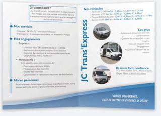 JC Trans'express - Transport routier - Capavenir-Vosges