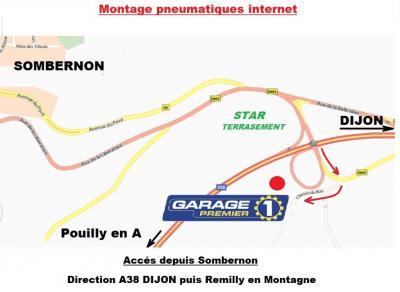 Sombernon Services (SARL) - Garage automobile - Mesmont