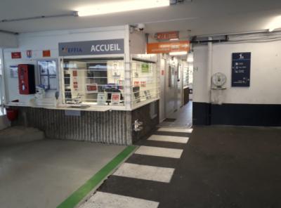 Parking gare de Vienne - EFFIA - Parking public - Vienne