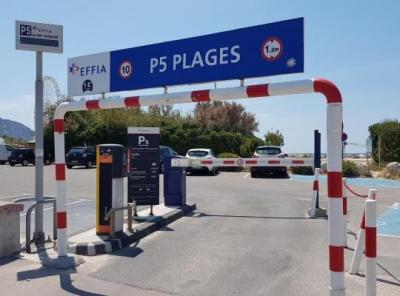 Parking P5 Plages La Mer Restaurant - Parking public - Marseille
