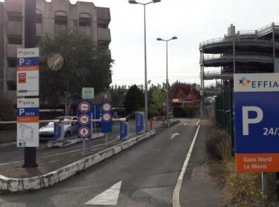 Parking gare du Mans - EFFIA - Parking public - Le Mans