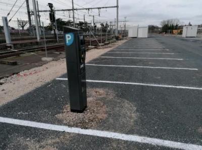Parking gare de Blois - EFFIA - Transport ferroviaire - Blois