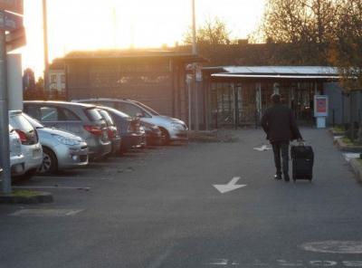 Parking gare de Caen longue durée - EFFIA - Parking public - Caen