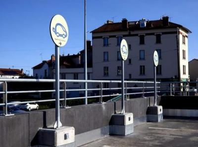 Parking Gare SNCF de Clermont Ferrand - Parking - Clermont-Ferrand