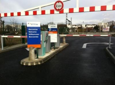 Parking gare de Gagny RER P+R - EFFIA - Parking public - Gagny