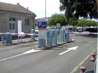 Parking gare de La Rochelle longue durée - EFFIA - Parking public - La Rochelle