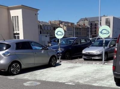 Parking gare de Limoges Aristide Briand P1 - EFFIA - Parking public - Limoges
