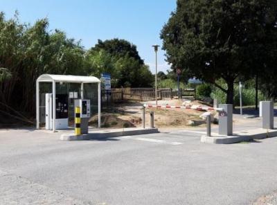 Parking Sainte-Maxime caravane - EFFIA - Parking public - Sainte-Maxime