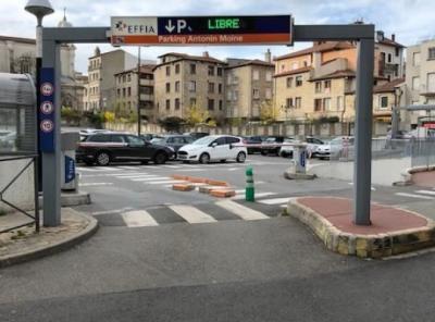 Parking Saint-Etienne Antonin Moine - EFFIA - Parking public - Saint-Étienne