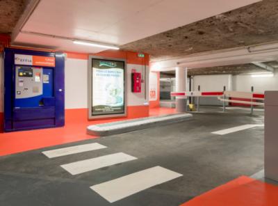 Parking Suresnes Henri IV - EFFIA - Parking public - Suresnes