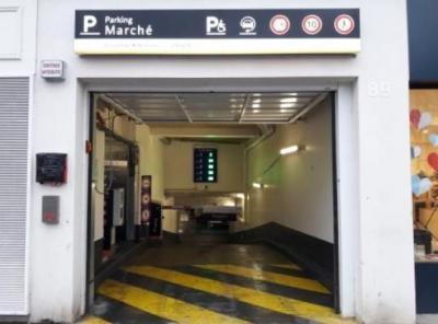 Parking Vincennes Marché - EFFIA - Parking public - Vincennes