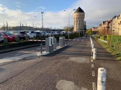 Parking gare de Metz Château d'eau - EFFIA - Parking public - Metz