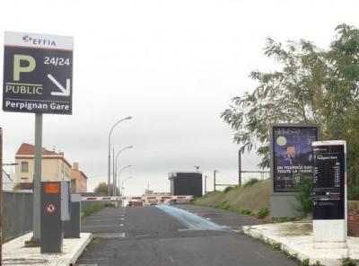 Parking gare de Perpignan longue durée - EFFIA - Parking public - Perpignan