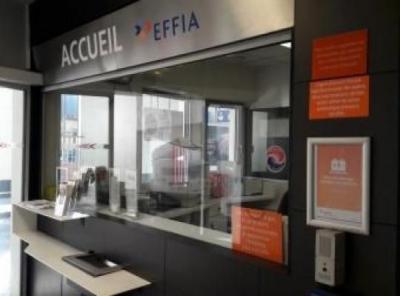 Parking gare de Rouen-Rive-Droite P2 - EFFIA - Parking public - Rouen