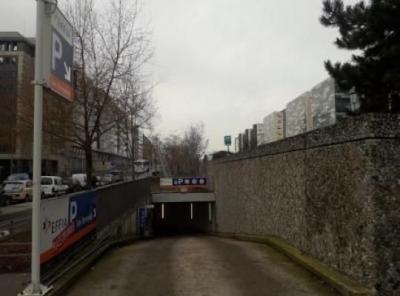 Parking de Nanterre les Terrasses - EFFIA - Parking public - Nanterre