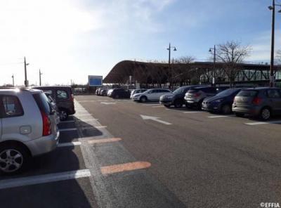 Parking gare Aix-en-Provence TGV P4 - EFFIA - Parking public - Aix-en-Provence