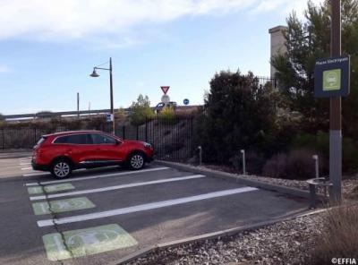 Parking gare Aix-en-Provence TGV P6 - EFFIA - Parking public - Aix-en-Provence