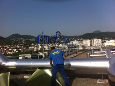 V2c Eurl - Fabrication de climatiseurs et ventilateurs - Clermont-Ferrand