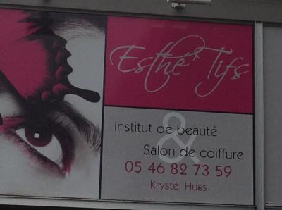 Atelier Esthe-Tifs - Coiffeur - Fouras