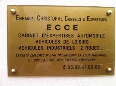 ECCE Emmanuel Christophe - Expert en automobiles - Colmar
