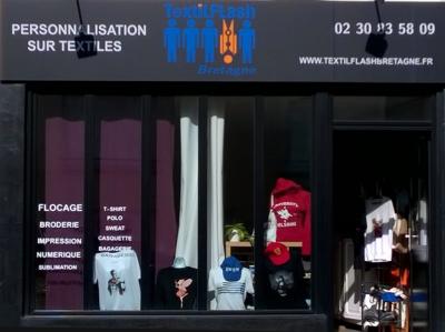 Textilflash Bretagne - Sérigraphie - Rennes