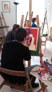 Diagonales - Artiste peintre - Clermont-Ferrand
