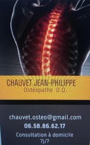 Jean-Philippe Chauvet - Ostéopathe - Maisons-Alfort