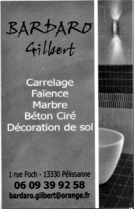 Bardaro Gilbert - Pose et traitement de carrelages et dallages - Pélissanne