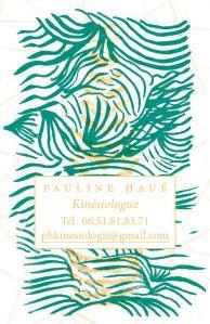 Pauline Haué Kinésiologue - Soins hors d'un cadre réglementé - Marseille