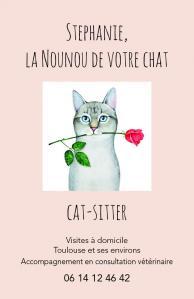 Stéphanie CatSitter - Services pour animaux - Toulouse