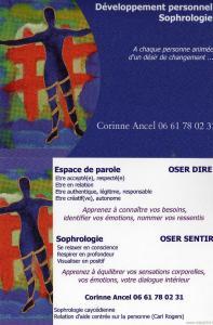 Ancel Corinne - Sophrologie - Paris